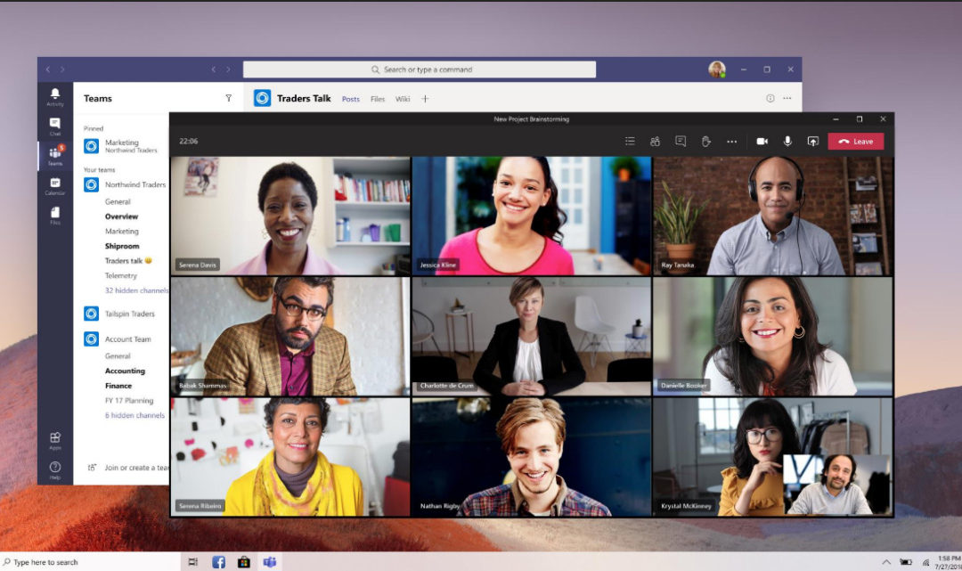 Create a Meeting in Microsoft Teams